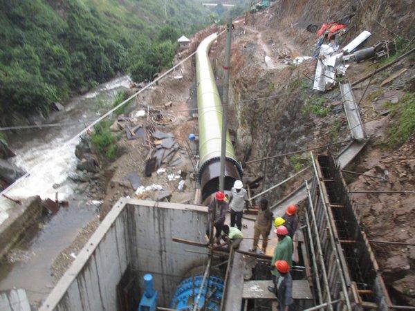 Construction Of Mini Hydro Power Project At Rwimi Uganda